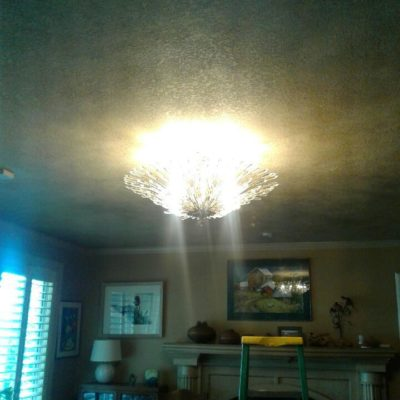 Residential Electrical Service, Ceiling Light Fixture, Home Electrician
