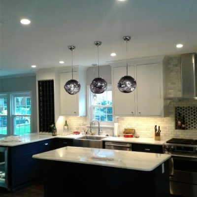 Residential Electrical Service, Kitchen Lighting, Home Electrician