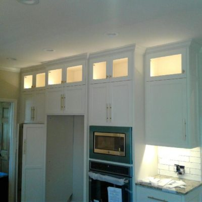 Residential Electrician, Kitchen Lighting, Home Electrician